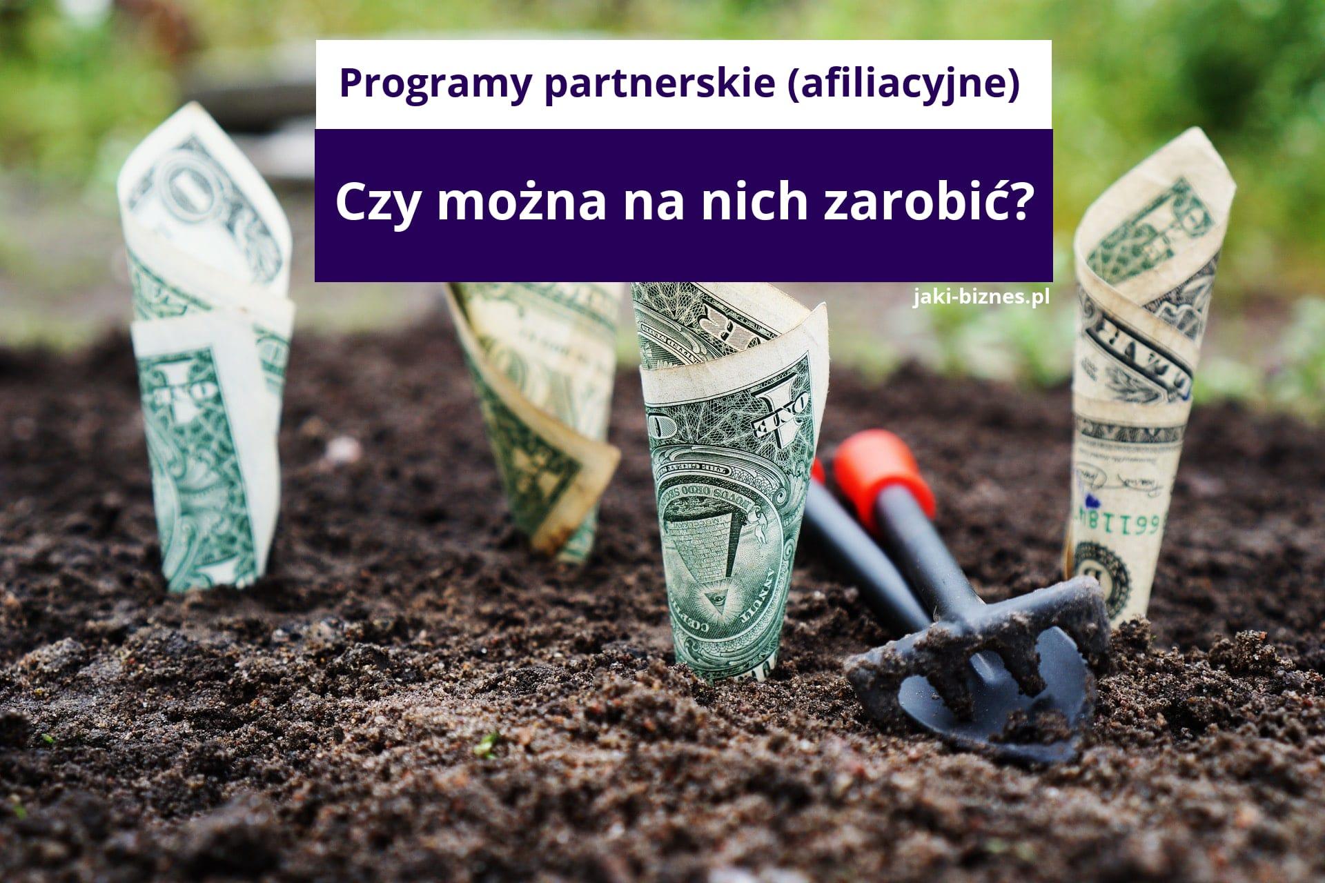 zarobki programy partnerskie